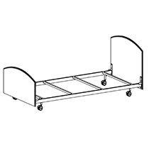 Corzina Bed Frame 406-0839 210
