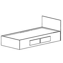 Sedona Platform Bed Full 404-0854 210