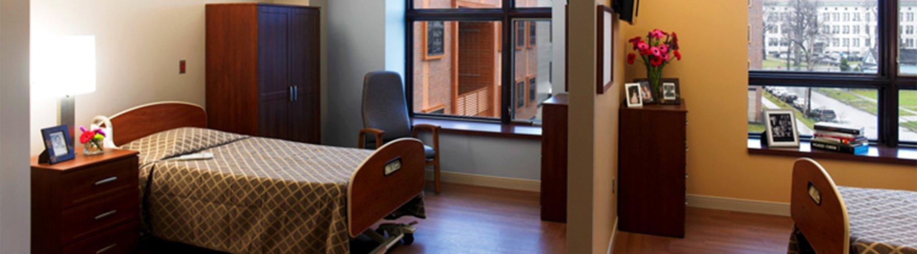 CFC Healthcare Twin Patient Room