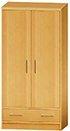 CFC Healthcare 407-0610 Monaco Door Drawer Wardrobe