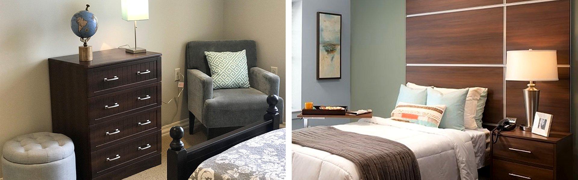 CFC Healthcare Patient Room Furniture
